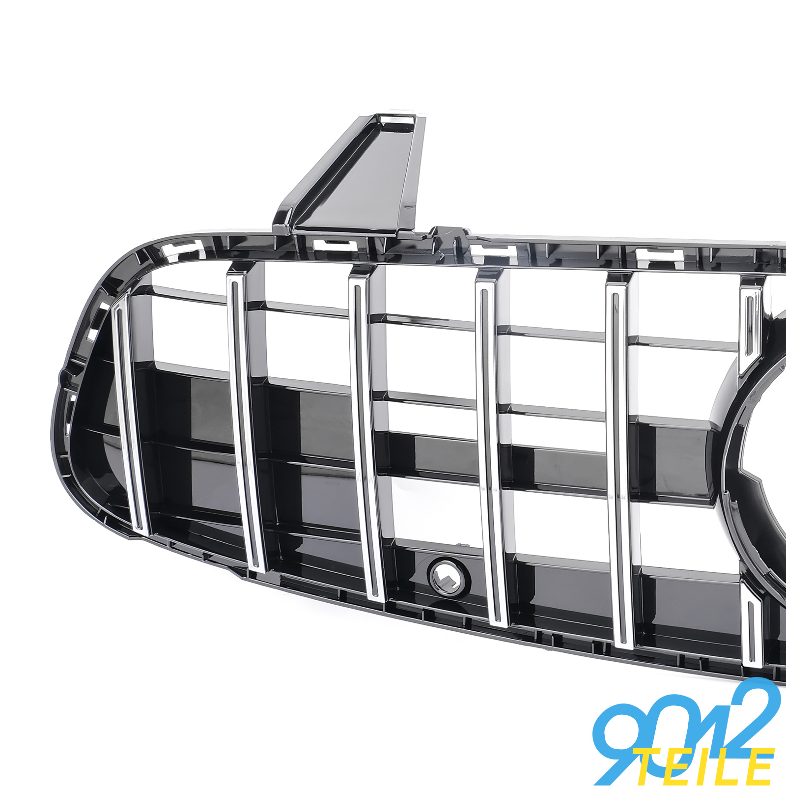 fuer-Mercedes-GT-LOOK-Grill-SL-Klasse-R231-W231-GLANZ-CHROM-Frontgrill-ab-2016 Indexbild 2